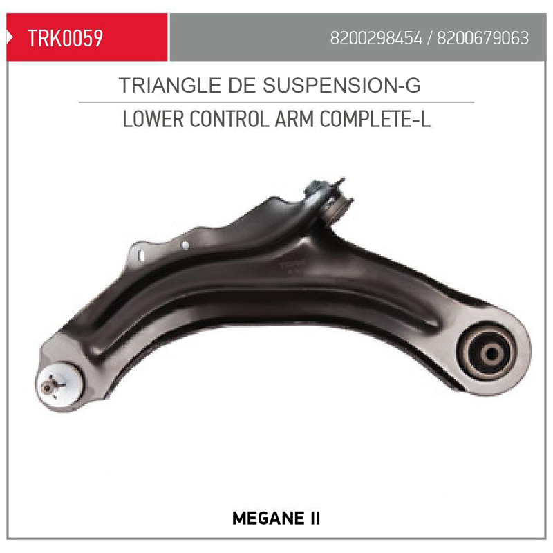 TRIANGLE SUSPENSION AVG MEGANE2 AX18